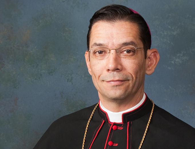 Bishop Daniel Flores.