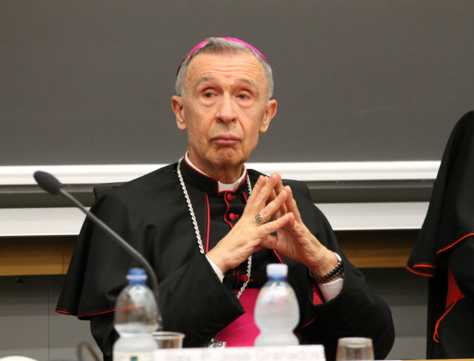 Cardinal Luis Ladaria, now the prefect of the Congregation for the Doctrine of the Faith.