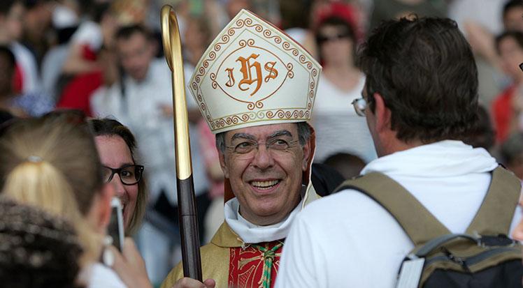 Archbishop Michel Aupetit.