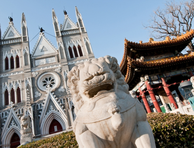Catholic Church of the Saviour in Xicheng District, Beijing, China