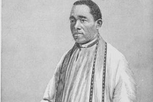 Saints celebrated by the Black community are well known, from Perpetua and Felicity to the Venerable Augustine Tolton, shown here in 1887.