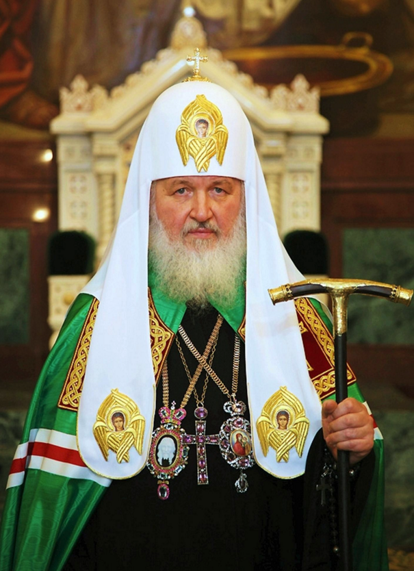 Patriarch Kirill of Moscow.