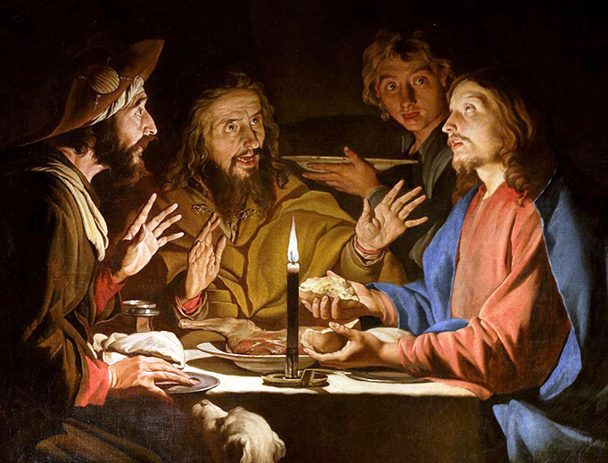 "Matthias Stom (fl. 1615-1649), ""The Supper at Emmaus"""