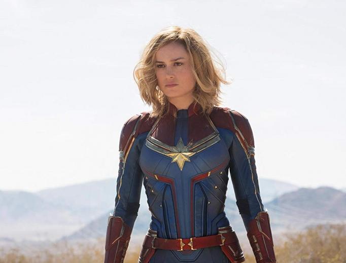 Brie Larson portrays the heroine in latest superhero flick.