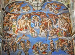 The Last Judgment from the Sistine Chapel