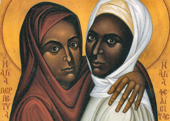 St.s Perpetua and Felicity are commemorated in Eucharistic Prayer I (the Roman Canon) itself. But who were they, and what is their dramatic story?