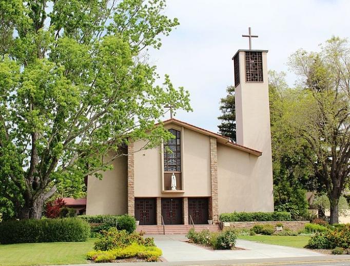 Cathedral of St. Eugene in Santa Rosa, CA.
