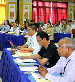 Asian bishops' federation's 2013 biblical seminar in Thailand