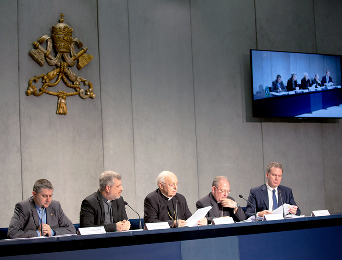Briefing on Instrumentum Laboris for Synod on Youth at the Holy See Press Office on June 19, 2018