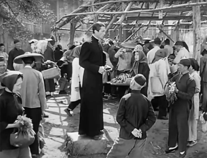 """Gregory Peck stars in 1944's """"The Keys of the Kingdom"""" (Screenbound Pictures via YouTube)"""