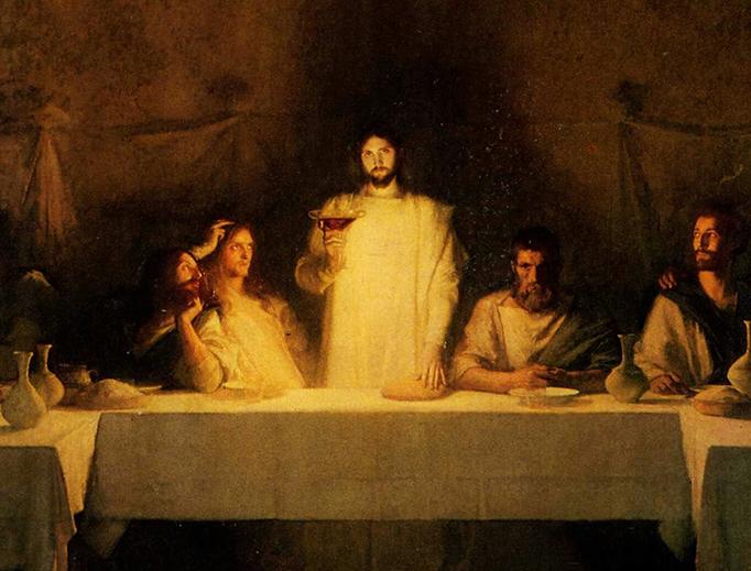 """Pascal Dagnan-Bouveret (1852–1929), """"The Last Supper"""""""