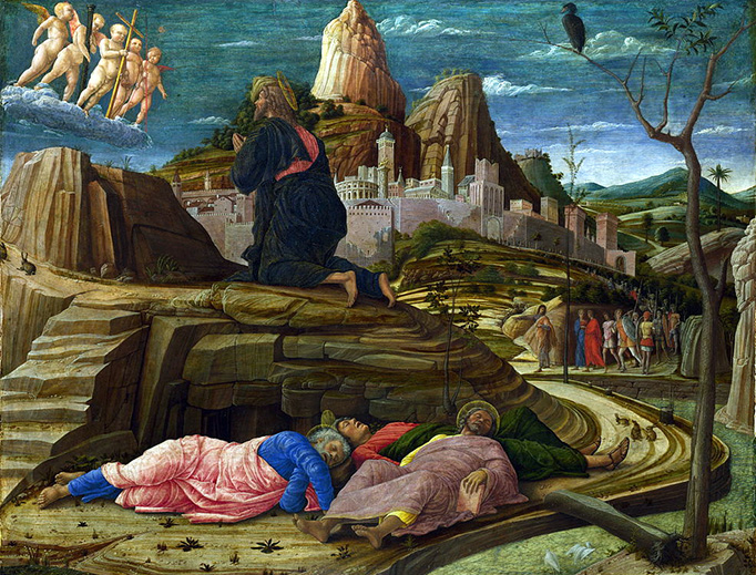 """Andrea Mantegna (1431-1506), """"The Agony in the Garden of Gethsemane"""""""