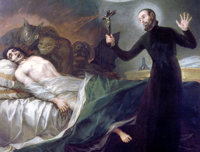 "Francisco Goya, ""St. Francis Borgia Helping a Dying Impenitent,"" 1788"