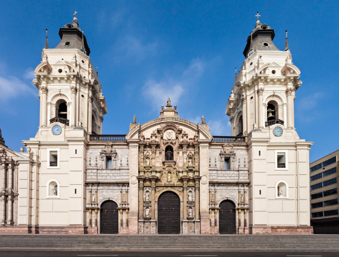 Cathedral in Lima.