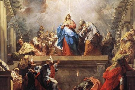 Jean II Restout, 'Pentecost', 1732