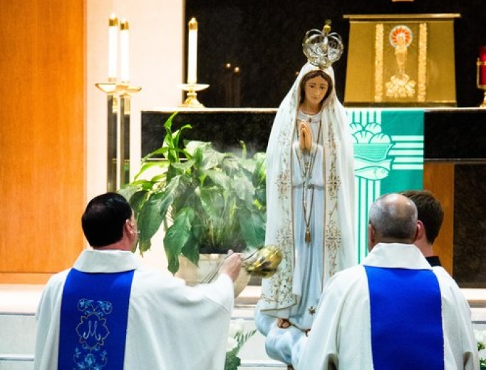 Our Lady of Fatima Church in Lakewood, Colorado, is honoring Fatima this centenary year.