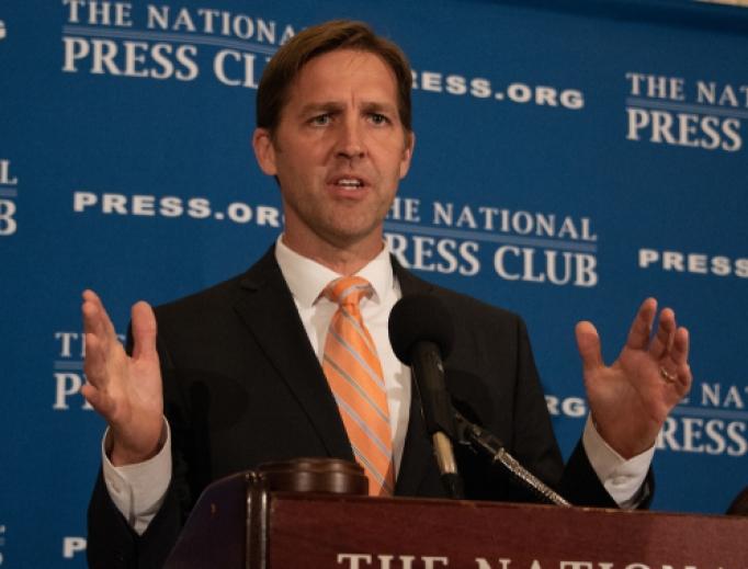 Senator Ben Sasse speaking at the National Press Club in Washington, D.C.