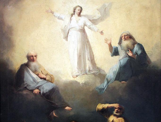 Johann Georg Trautmann, The Transfiguration, 1760