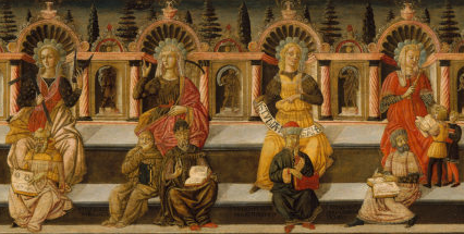 Screen Shot of a Partial Image of the Seven Liberal Arts