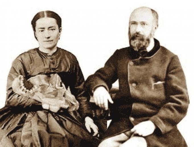 Saints Louis and Zélie Martin.