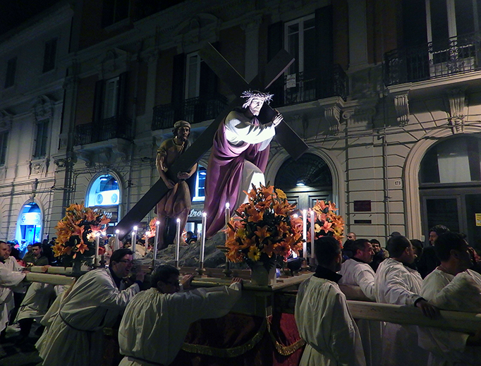 The procession of the 'Barette' in Messina has taken place every Good Friday since the 15th century