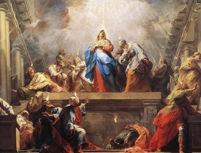 """Jean II Restout, """"Pentecost"""", 1732"""