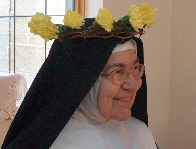 Sister Mary Charitas (Bethlehem Monastery of the Poor Clares of Barhamsville, Virginia)