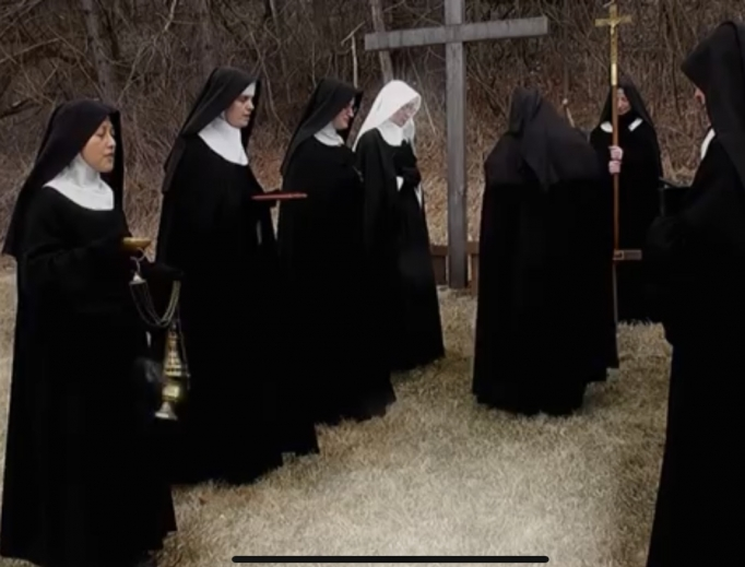 Cisterian nuns in Wisconsin.