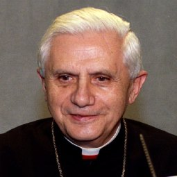 Cardinal Joseph Ratzinger is shown in this 1993 file photo.