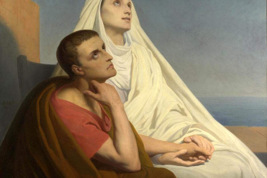 Sts. Monica and Augustine