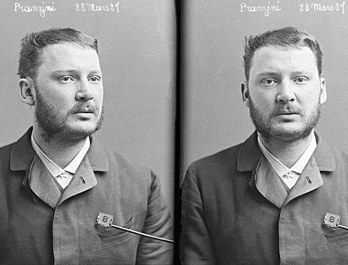 Henri Pranzini was executed in 1887 for a triple assassination.