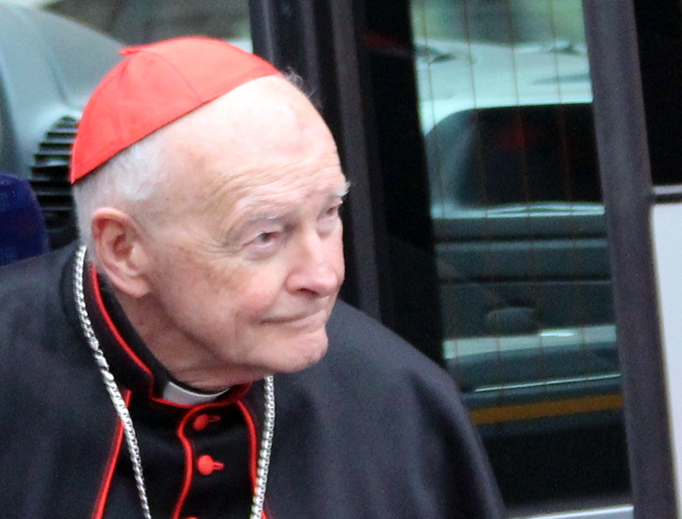Then-Cardinal Theodore McCarrick at the Vatican in 2013.