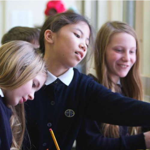Students at the New England Classical Academy