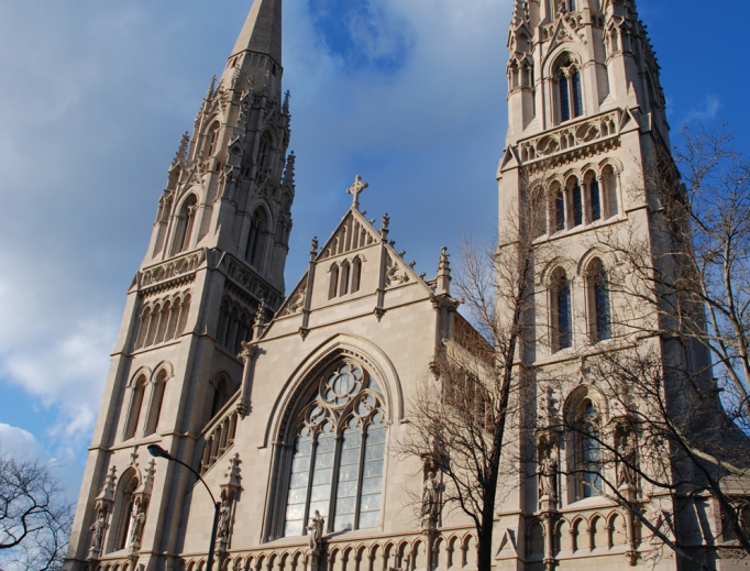 St. Paul's Cathedral in Pittsburgh