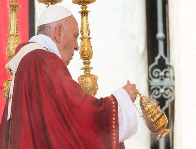 Pope Francis celebrates the Feast of Pentecost, June 9, 2019.