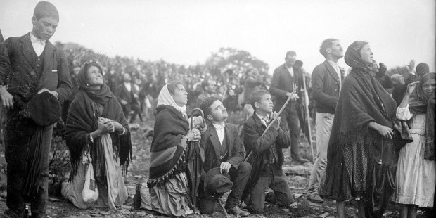 The Miracle of the Sun at Fatima A.D. 1917