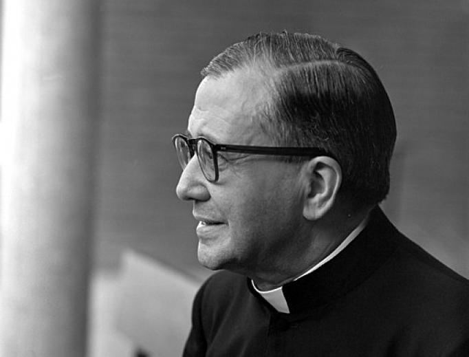 Josemaría Escrivá de Balaguer on September 23, 1966.