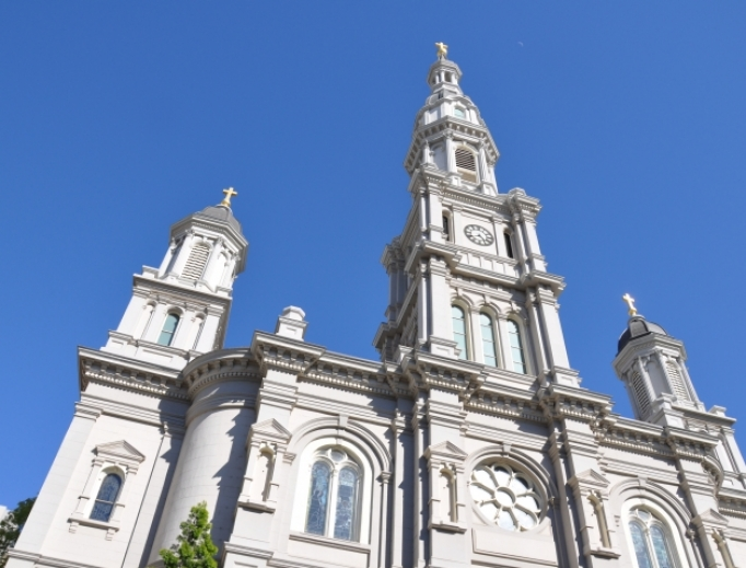 Cathedral of the Blessed Sacrament in Sacramento, Calif.