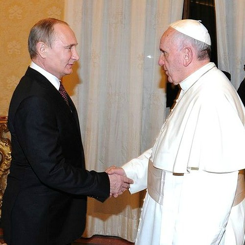 Ukraine To Be Hot Topic Of Pope Francis Vladimir Putin Meeting National Catholic Register