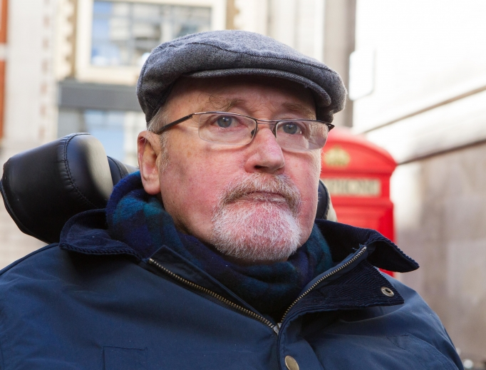 Noel Conway, 67, who has a motor neuron disease is seeking legal authority from the Royal Courts of Justice in London to commit suicide.