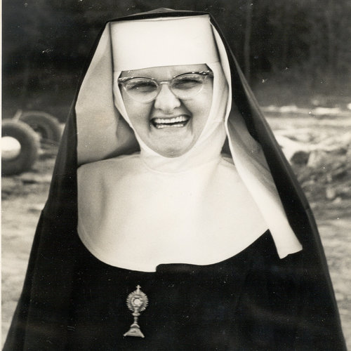 Mother Angelica on May 20, 1962, monastery dedication day