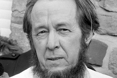Alexander Solzhenitsyn in 1974
