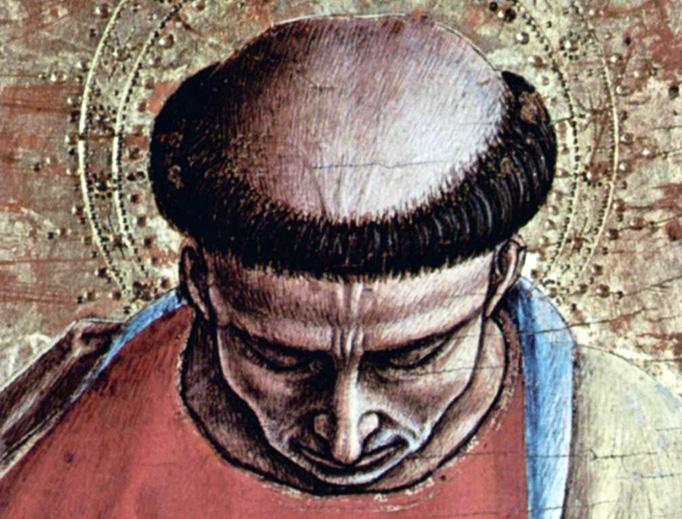 "Carlo Crivelli, ""Hl. Bartolomäus,"" 1473"
