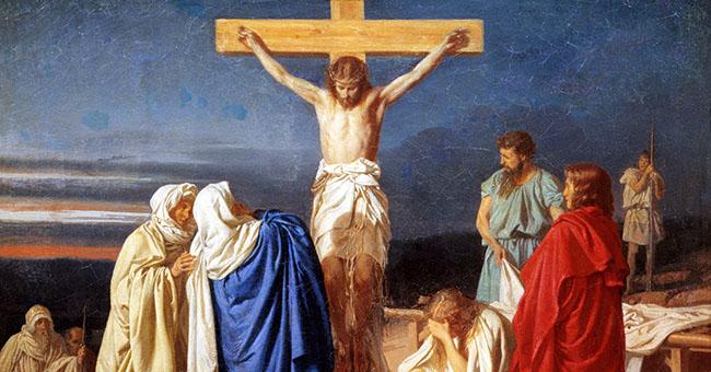 "Evgraf Semenovich Sorokin, ""Crucifixion"" (1873)"