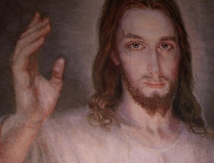 Divine Mercy image from World Youth Day 2016
