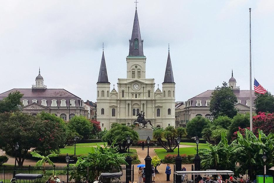 The St. Louis Cathedral of New Orleans