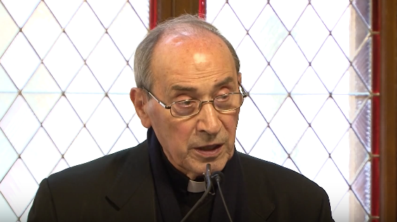 Cardinal Velasio De Paolis, 80, prefect emeritus of the Prefecture for the Economic Affairs of the Holy See.