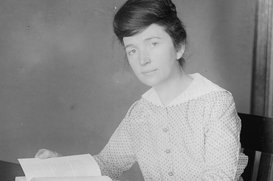 Margaret Sanger in 1916