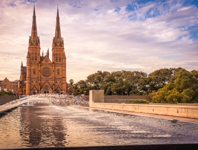 Saint Mary's Cathedral in Sydney.