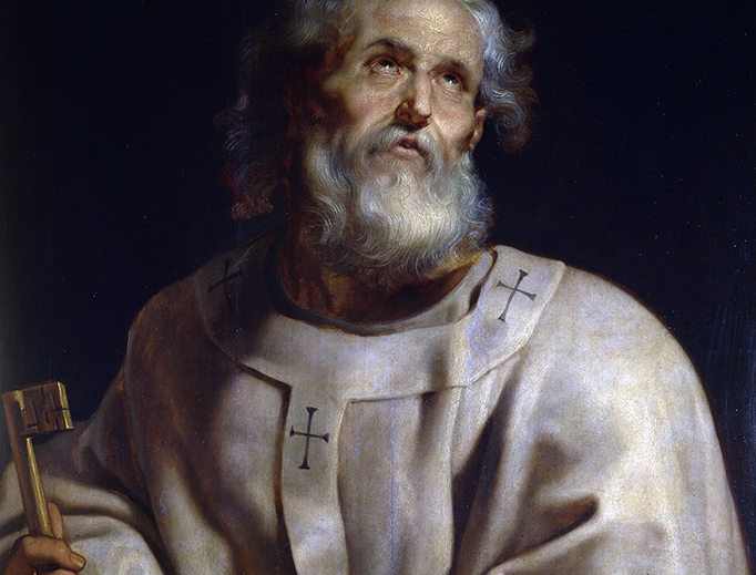 "Peter Paul Rubens, ""Saint Peter as Pope"", ca. 1611"